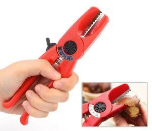 Korean SAMDUK Chestnut Husker Husk Peel Scissors Knife Made in Korea