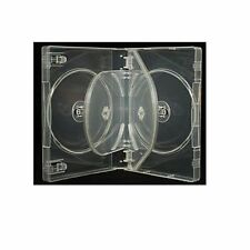 10 x Super Chiaro Triplo 3 Way DVD / CD Casi AAA Qualità X-PERT media