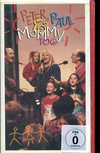 Peter, Paul & Mary * VHS * Peter, Paul & Mommy (original VHS Cassette 1993)