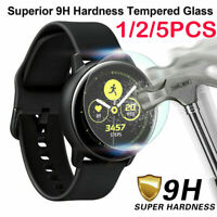 Lot For Samsung Galaxy Watch Active Tempered Glass Screen Protector Film Bu