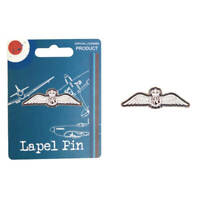 RAF Vintage Metal Enamel Lapel Pin RAF Wings