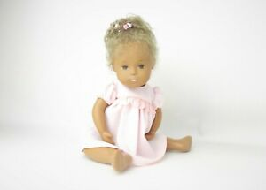 SASHA DOLL ~ EARLY BABY GIRL, RE-ROOTED WITH MOHAIR by Jackie Rydstrom