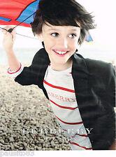 PUBLICITE ADVERTISING 075  2011  BURBERRY CHILDREN mode haute couture enfant
