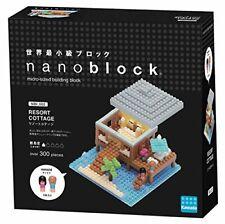 Nano-block Nanoid Resort Cottage NBI _ 002