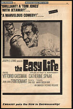 THE EASY LIFE aka IL SORPASSO__Original 1964 Trade AD / poster__CATHERINE SPAAK