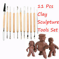 Steel Crafts Pottery Tools Clay Sculpting Set Wax Carving Polymer Modeling