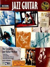 JAZZ GUITAR METHOD - MASTERING IMPROVISATION JAZZ GUITAR TUITION BOOK + CD