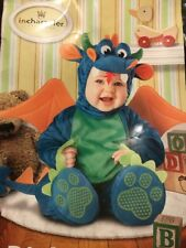 Dinky Dragon Plush Costume Baby M(12-18 Mos)