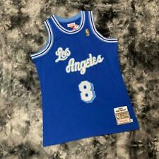 Los Angeles Lakers #8 Kobe Bryant Blue Throwback Jersey Same Day Shipping