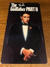 The Godfather Part 2 Ii Vhs Used Movie Vcr Video Tape Robert De Niro Al Pacino