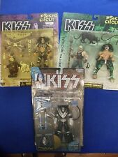 ~~ KISS ~ 2 PSYCHO CIRCUS FIGURES & ACE FREHLEY FIGURE  ~~