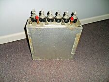 GENERAL ELECTRIC 19L-579RP2 DIELEKTROL WATER COOLED CAPACITOR 19L579RP2 500V