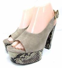 Diane Von Furstenberg women's size 8 M high heels 5 inches tall