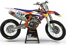 KTM EXC EXCF MX GRAPHICS MOTOCROSS GRAPHICS EXC 125 200 250 350 450 500 2017