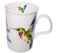 Roy Kirkham Tea Mug Coffee Hummingbird Fine China Garden England Tableware GIFT