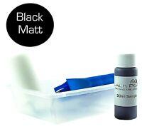 Black Permanent Bumper Plastic Trim Restore Exterior Interior Tyre Dressing Matt
