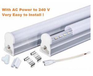 5x New Syntech LED Pelmet Light T8 RLT Series 18W 4Ft 120cm No Fitting Requires!