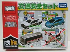 TAKARA TOMY TOMICA POLICE SET WITH MAP WITHOUT MOTORCYCLE MIB NEW