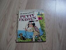 un petit livre d'or les aventures du petit indien