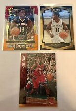 2016 Select Prizm Tri Color Jrue Holiday + 2015 Select + 2012 Panini Threads