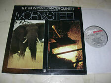 The Monty Alexander Quinteto Ivory & Steel Feat.othello On Drums Picante LP