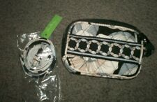 """Vera Bradley """"Camellia"""" Small Quilted Bag and lanyard  black white gray floral"""