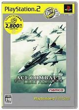 Used PS2 Ace Combat 5: The Unsung War SONY PLAYSTATION JAPAN IMPORT