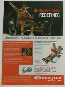 Bowflex Revolution Print Ad Poster Art Fitness Advertising Exercise Workout
