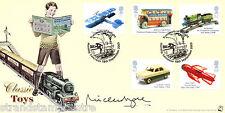 2003 trasporti di gioia-Bradbury SOVRANO UFFICIALE-autografato da Mike ASPEL
