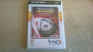 CHAMPIONSHIP MANAGER SEASON 01/02 - PC GAME - FAST POST - COMPLETE - VGC