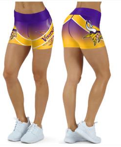 Minnesota Vikings Small to 2XL Women's Shorts