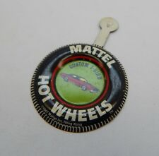 Redline Hotwheels Button Badge Metal Hong Kong Custom T-Bird R17220