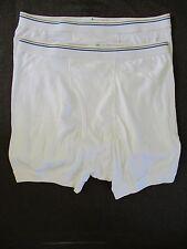 TOWNCRAFT vintage white Fortel cotton underwear boxer briefs LARGE NEW