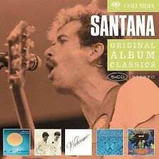 SANTANA 5CD NEW Caravanserai/Love Devotion Surrender/Welcome/Borboletta/Amigos