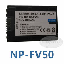Battery for Sony NP-FV50 DSLR-A330 DCR-SX83E DCR-SR88 HDR-HC3 HDR-CX370V HDR-CX3