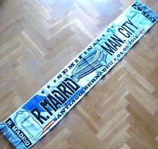 BUFANDA SCARF REAL MADRID - MANCHESTER CITY SEMIFINAL CHAMPIONS 04-05-16 SCIARPA