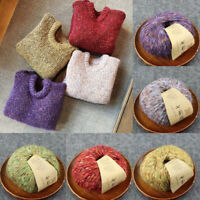 50g DIY 14Colors Wool Cashmere Yarn Alpaca Hand Knitting Thread Crochet Yarn