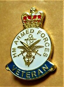 British Military Army Enamel Lapel Pin Badge Armed Forces Brand New