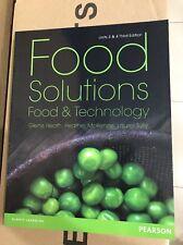NEW Food Solutions by Glenis Heath, Heather McKenziie, Laurel Book Units 3 &4