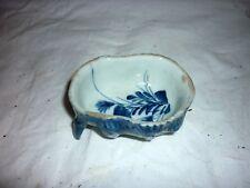 Ancienne tasse porcelaine de chine bleu blanc Satyre 19C Chinese Qing Jiaqing