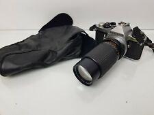 Vintage Pentax ME Super 35mm SLR Film Camera with Pressman 80-200mm Zoom Lens