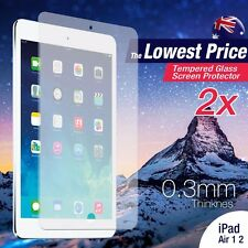 2 X Tempered Glass Screen Protector for Apple iPad 5 2017 Air 1 2 Pro 9.7 Film