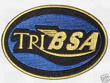 Tri BSA Vintage Motorräder Patch Abzeichen Triumph Tribsa Cafe Racer
