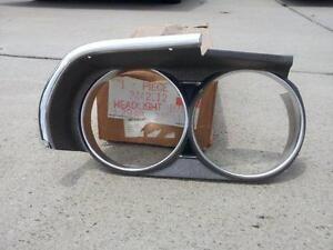 NOS Mopar 3442012, 1971 Dodge Challenger Grill  Headlight Bezel right hand side