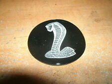 SHELBY COBRA KIT CAR AC COBRA STEERING WHEEL SNAKE CENTER EMBLEM DECAL 2 3/8 INC
