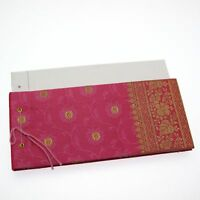 Sari Medium Notepads Fair Trade  Notebook Journal Diary
