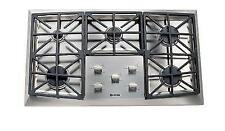 "Verona Vectgv365Ss 36"" Stainless Steel Gas Cooktop with Front Controls"