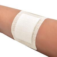 10pcs Soft Non-Woven Medical Adhesive Wound Dressing Large Band Aid Bandage