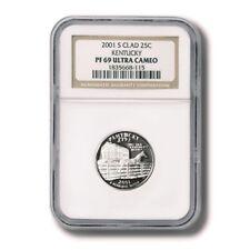 USA Kentucky State Quarter Clad 25 cents 2001 NGC Proof 69 Ultra Cameo