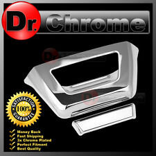 07-13 Chevy AVALANCHE Triple Chrome ABS Tailgate NO Camera Hole Handle Cover